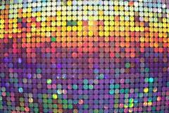 Les cercles color?s L'espace libre Fond convexe d'art photographie stock
