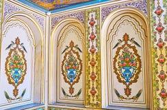 Les chambres de la Chambre de Qavam, Chiraz, Iran Images libres de droits