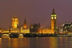 Les Chambres du Parlement Photo stock