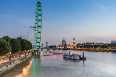 Les Chambres du Parlement Londres Images stock
