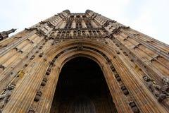 Les Chambres du Parlement. Londres. LE R-U. Photo stock