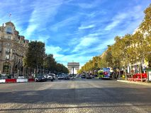 Les Champs Elysees Royalty Free Stock Images