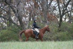 Les chasseurs arpentent Queeny parc en novembre 2018 image stock