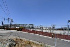 Les chasseurs du ` s de San Francisco dirigent l'ancien site de puissance, 3 photographie stock