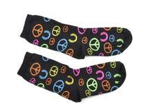 Les chaussettes des enfants frais Photo stock