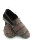 Les chaussons des hommes Image stock