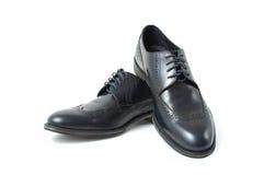 Les chaussures classiques des hommes Photographie stock libre de droits