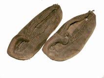 Les chaussures d'antiquité Image libre de droits