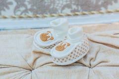 Les chaussures de bébé Image libre de droits