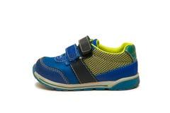 Les chaussures de bébé d'isolement sur le fond blanc Image stock