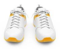 Les chaussures de course illustration stock