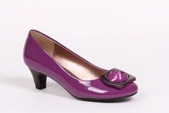 Les chaussures de femme ont isolé Image libre de droits