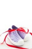 Les chaussures de l'enfant Photographie stock libre de droits