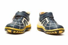 Les chaussures de l'enfant Photographie stock