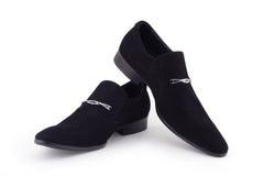 Les chaussures de l'homme. Photographie stock