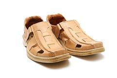 Les chaussures de l'homme Photo stock