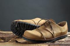 Les chaussures de l'homme Image stock
