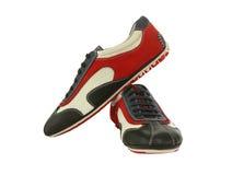 Les chaussures de l'homme Photos libres de droits