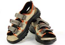 Les chaussures de l'homme d'été Photos libres de droits