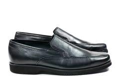 Les chaussures de l'homme de couleur Image libre de droits