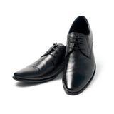 Les chaussures de l'homme de couleur Image stock