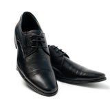Les chaussures de l'homme de couleur Photographie stock libre de droits