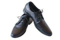 Les chaussures de l'homme de couleur Photos stock