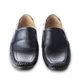 Les chaussures de l'homme de couleur Photo libre de droits