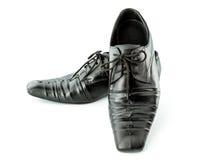 Les chaussures de l'homme de couleur d'isolement Photographie stock