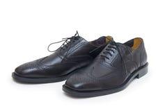 Les chaussures de l'homme de couleur d'isolement sur le fond blanc. Images stock
