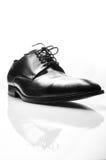 Les chaussures de l'homme de couleur d'isolement sur le fond blanc. Photographie stock libre de droits