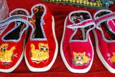 Les chaussures de la Chine Image libre de droits