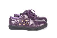 Les chaussures des enfants Images stock