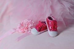 Les chaussures des enfants Photographie stock libre de droits