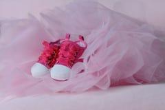 Les chaussures des enfants Photos libres de droits