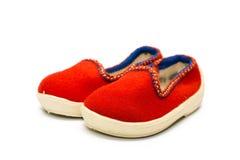 Les chaussures des enfants photo stock