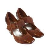 Les chaussures des femmes élégantes Photos libres de droits