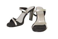 Les chaussures des femmes Photos stock