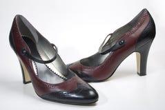 Les chaussures des femmes Image libre de droits