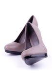 Les chaussures des femmes de paires Photo stock