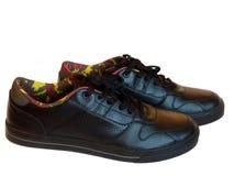Les chaussures des hommes à la mode Photographie stock libre de droits