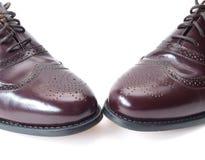 Les chaussures des hommes Images libres de droits