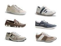 Les chaussures des hommes Photos libres de droits
