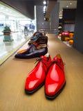 Les chaussures des hommes Photographie stock