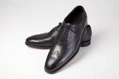 Les chaussures des hommes classiques Images libres de droits