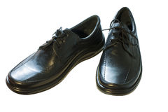 Les chaussures des hommes de couleur Images stock