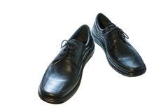 Les chaussures des hommes de couleur Images libres de droits