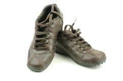 Les chaussures en cuir des hommes photographie stock