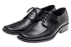 07b468c9957461 Les Chaussures Noires De L'homme De Paires Photo stock - Image du ...