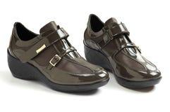 Les chaussures occasionnelles des femmes Images stock